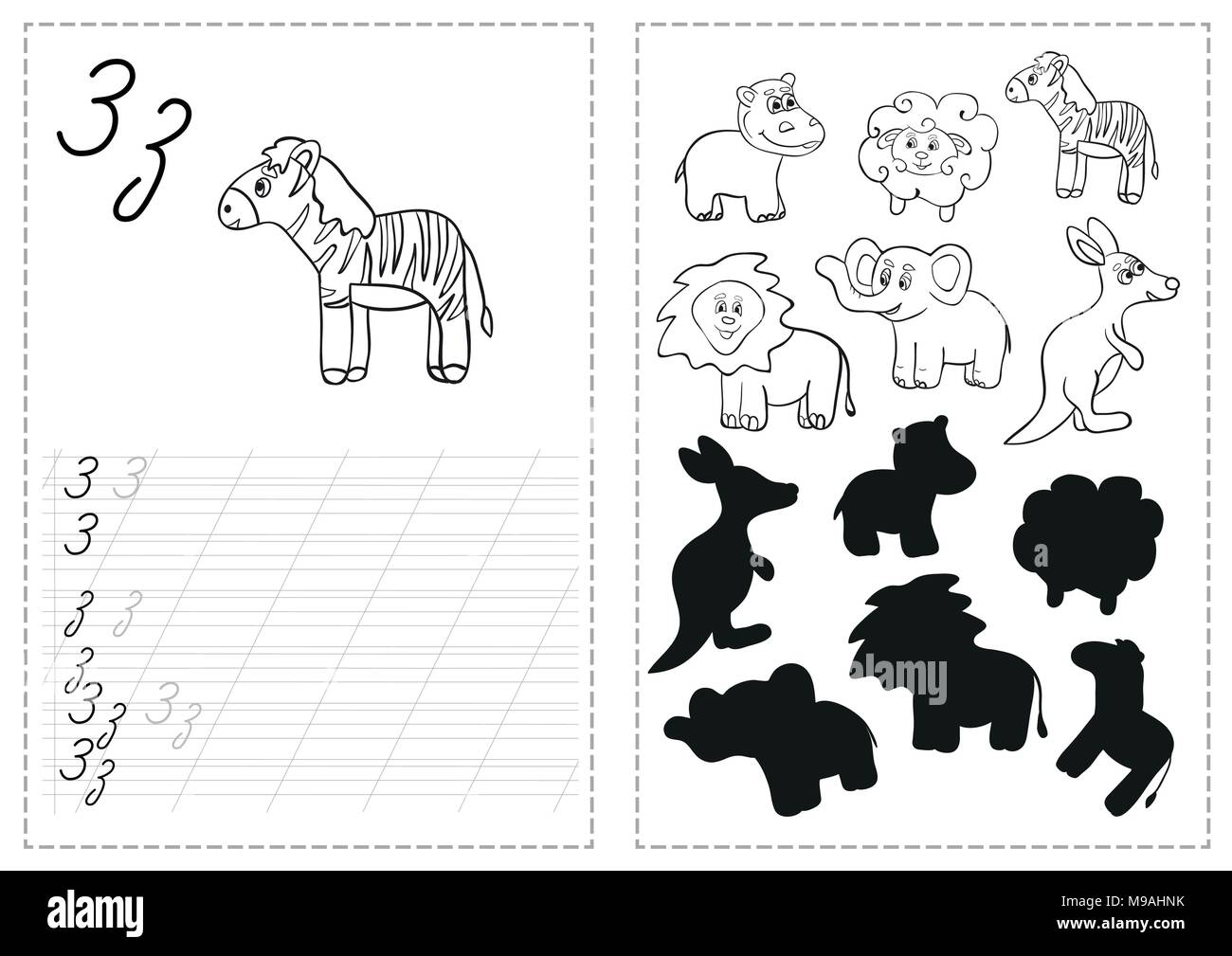 Education Cartoon Alphabet Letters Kids Stock Photos Amp Education Cartoon Alphabet Letters Kids