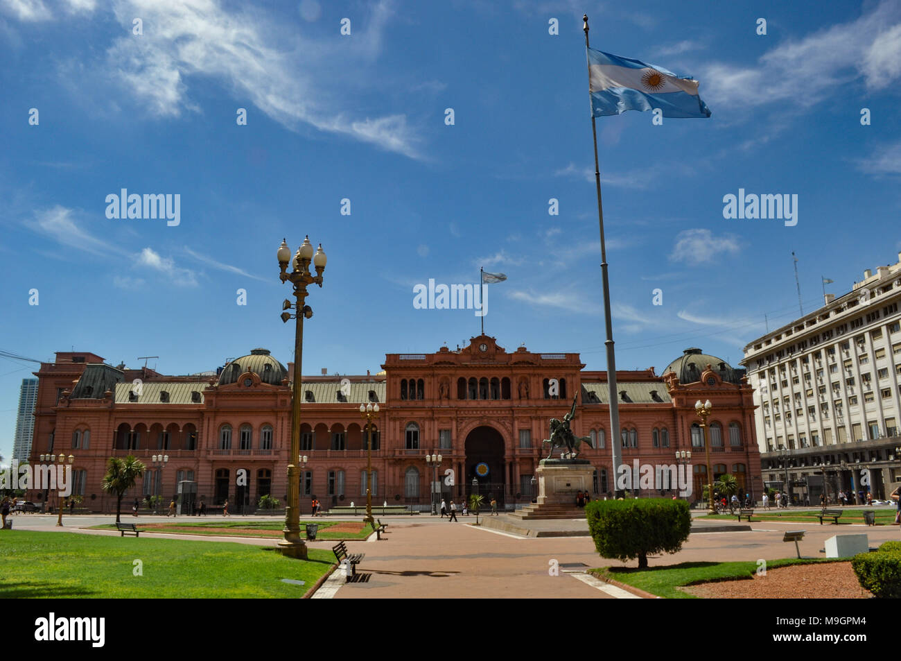 The Pink House Buenos Aires Argentina Stock Photos  The