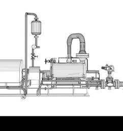 wire frame industrial pump 3d rendering isoalted on white background [ 1300 x 791 Pixel ]