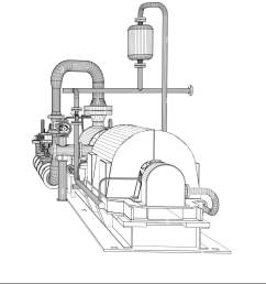 wire frame industrial pump 3d rendering isoalted on white background [ 1139 x 1390 Pixel ]