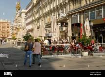 Street Cafes in Vienna Austria