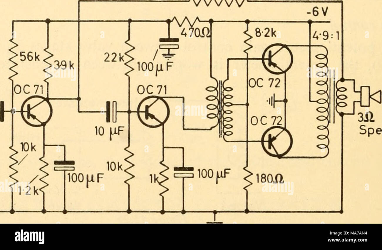 hight resolution of  coupling transformer gilson w0780 6v output transformer gilson w0781 6v figure 45 31 pair of output transistors in class b push pull the circuit