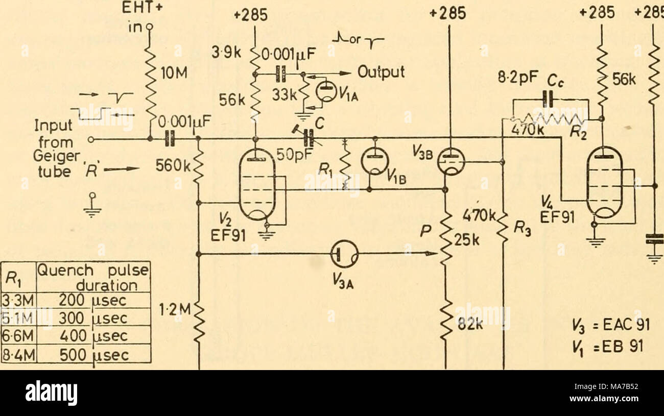 hight resolution of if 1 3 eac 91 h eb 91 95 95 95 figure 31 5 quench probe redrawn a e r e type 1014 the cathode