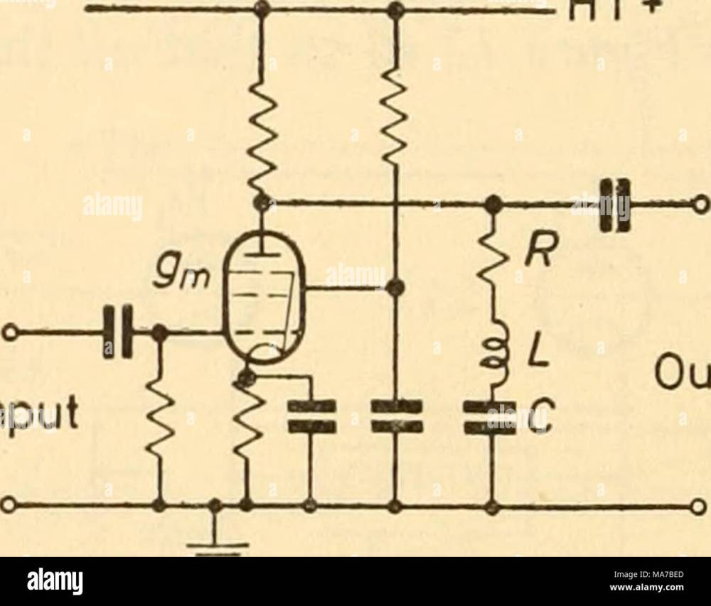 medium resolution of thus a simple acceptor amplifier comprises a pentode having for its anode load a parallel tuned circuit figure 13 1