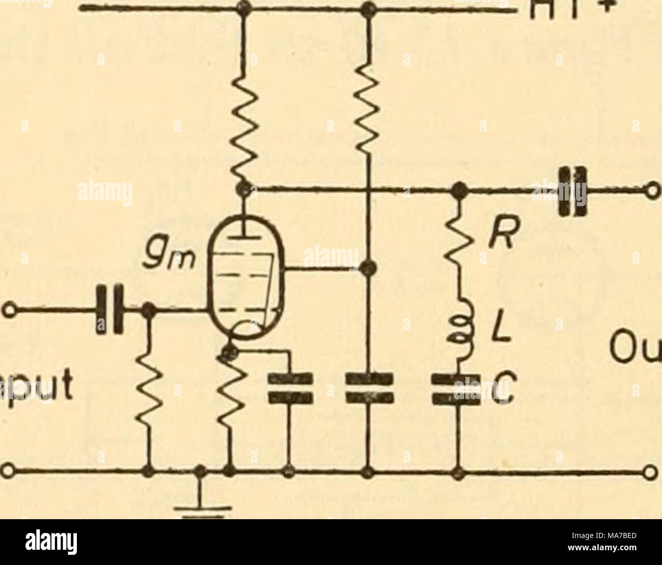 hight resolution of thus a simple acceptor amplifier comprises a pentode having for its anode load a parallel tuned circuit figure 13 1