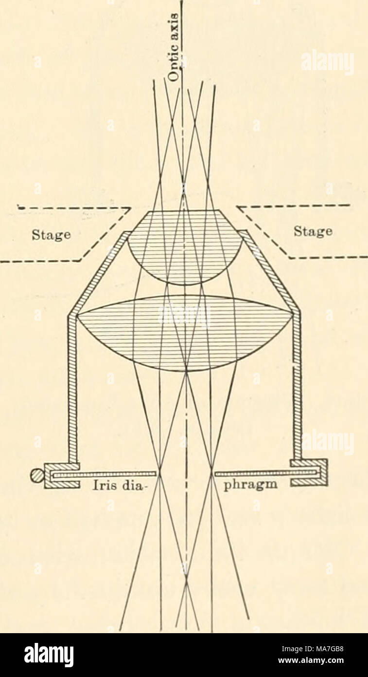 hight resolution of diagram of abbe condenser axial light lens and thus render the fine details of the illuminated object most distinct in the diagram fig
