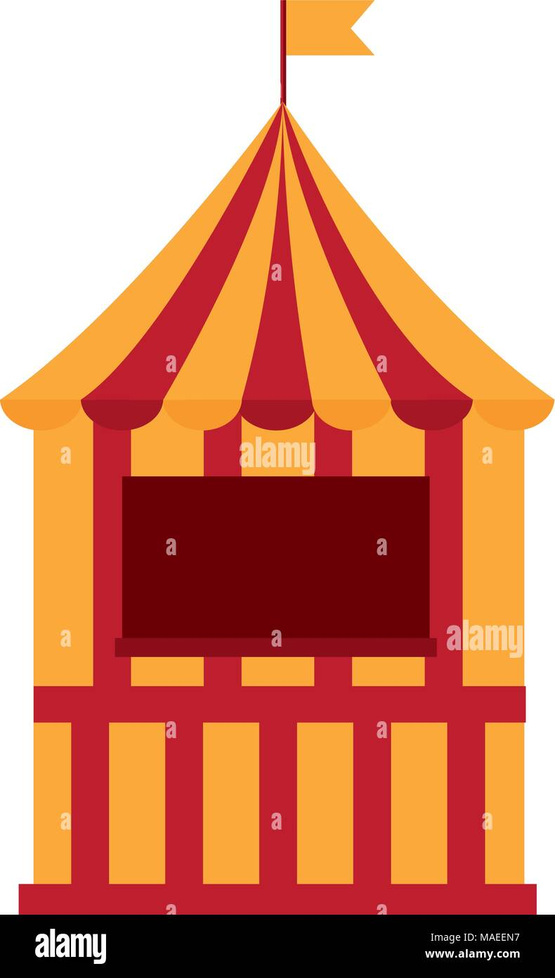 hight resolution of circus ticket box icon vector illustration design stock vector