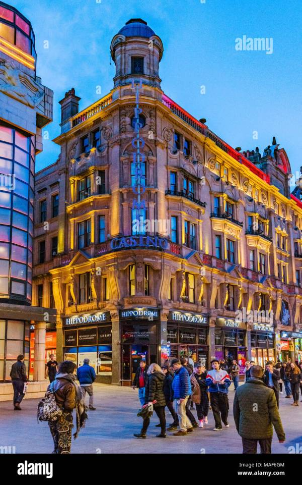 London Hippodrome Leicester Square Stock &