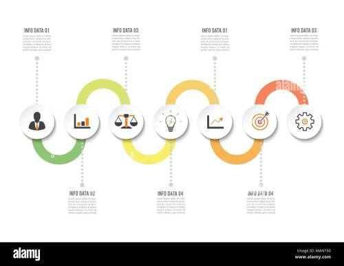 small resolution of infographic design template and marketing icons template for diagram graph presentation and round chart business concept with 7 options parts st