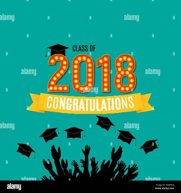 Graduation 2018 Stock &