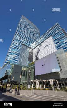 La Live Tower And Jw Marriott Hotel Nike Jumpman Ad