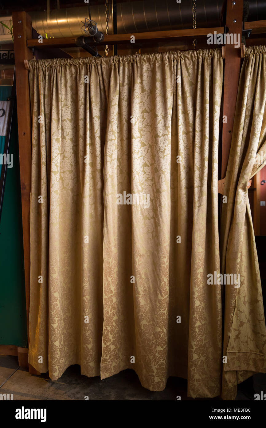 https www alamy com changing room curtains at studio image178942832 html