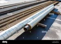 Pipe Insulation Stock Photos & Pipe Insulation Stock