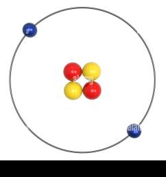 helium atom bohr model with proton neutron and electron science and chemical concept 3d [ 1300 x 956 Pixel ]