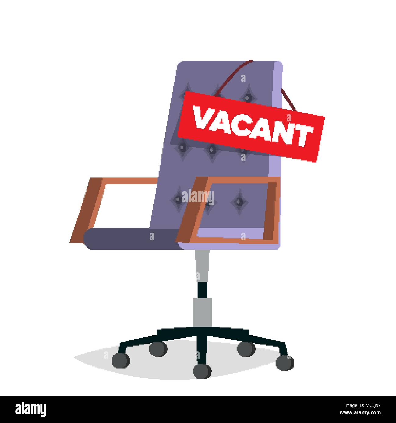 the vacant chair human jungle fisher price zen high hire stock vector images alamy