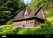 Abandoned Wooden House Stock &