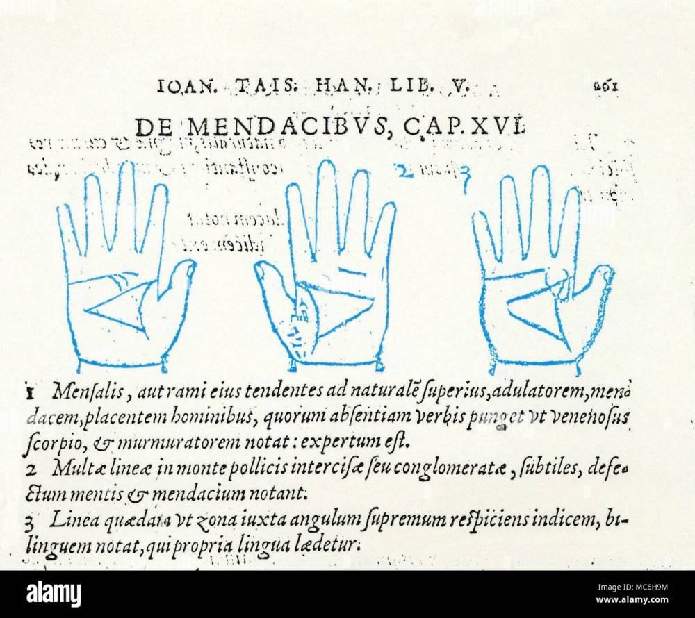 medium resolution of palmistry example of late mediaeval palmistry three diagrams depicting the relationship of the three main lines