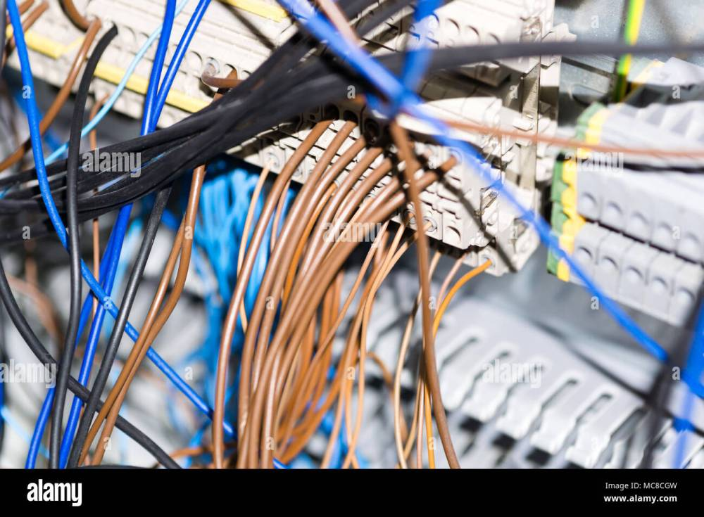 medium resolution of electrical equipment components installation in fuse box wiring and connections
