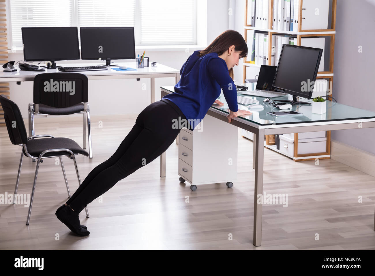 Chair Exercise Chair Exercise Office Stock Photos Chair Exercise Office Stock