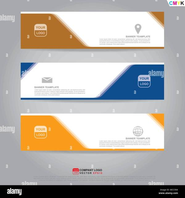 Template Of Banner Brochure Flyer And Card Voucher