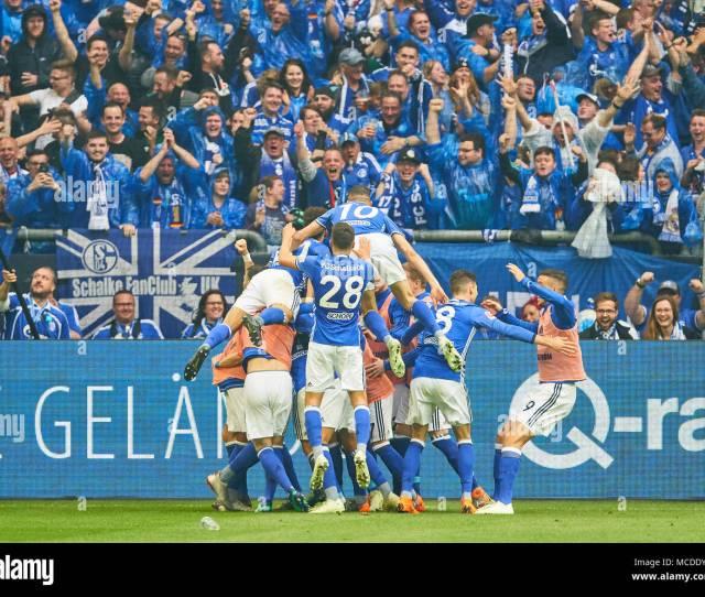 Gelsenkirchen Germany 15th April 2018 Fc Schalke Bvb Soccer Gelsenkirchen