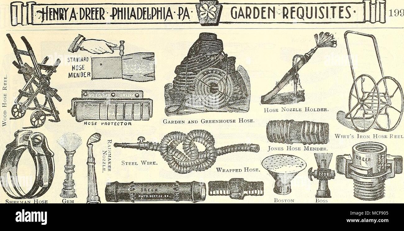 hight resolution of garden requisites 199 sherman hose gem clamp nozzle cooper hose mender hose