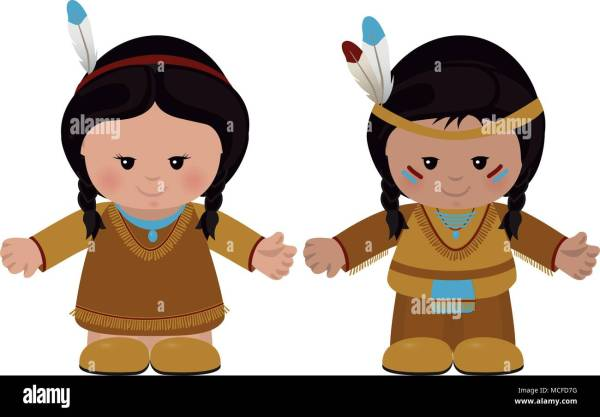 American Indian Woman Cartoon Characters