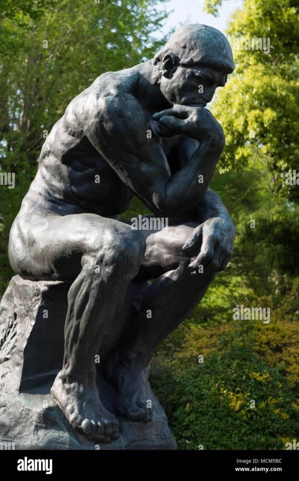 Rodin Thinker Stock &