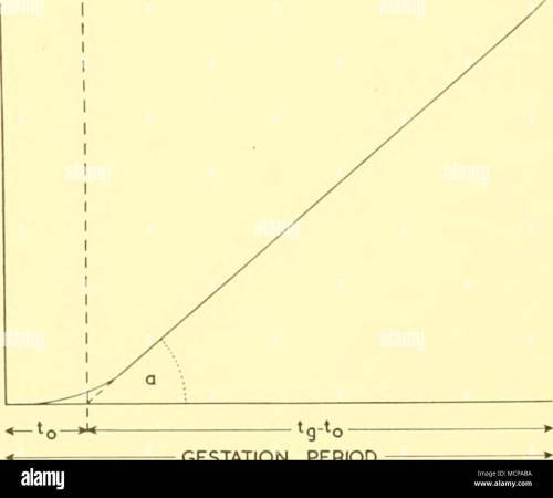 small resolution of i diagram illustrating relation between foetal weight or length gestation period and a after huggett and widdas 1951 in this respect the work of