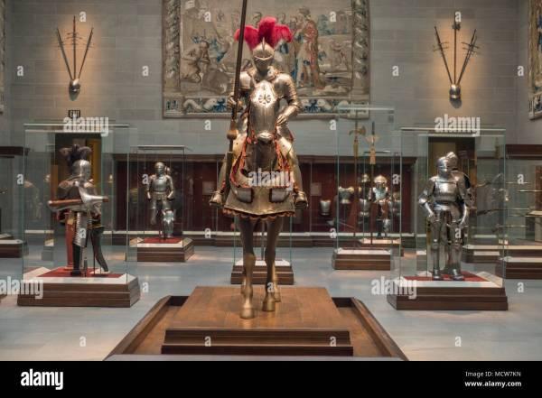 Knight Armour Museum Stock &