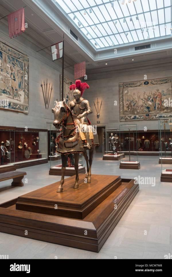 Knight Armour Museum Stock & - Alamy