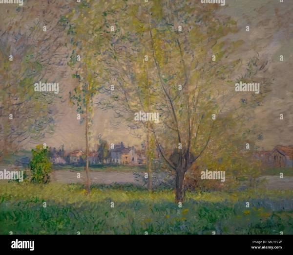 Claude Monet Landscape Stock &