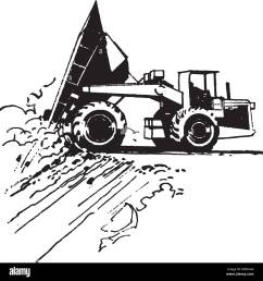 dump truck retro clipart illustration [ 1300 x 1377 Pixel ]