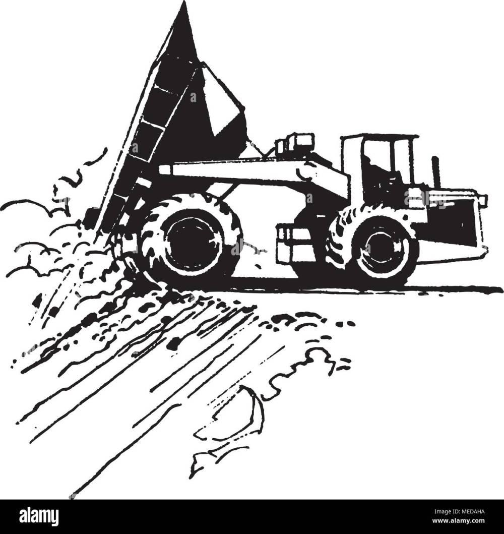 medium resolution of dump truck retro clipart illustration