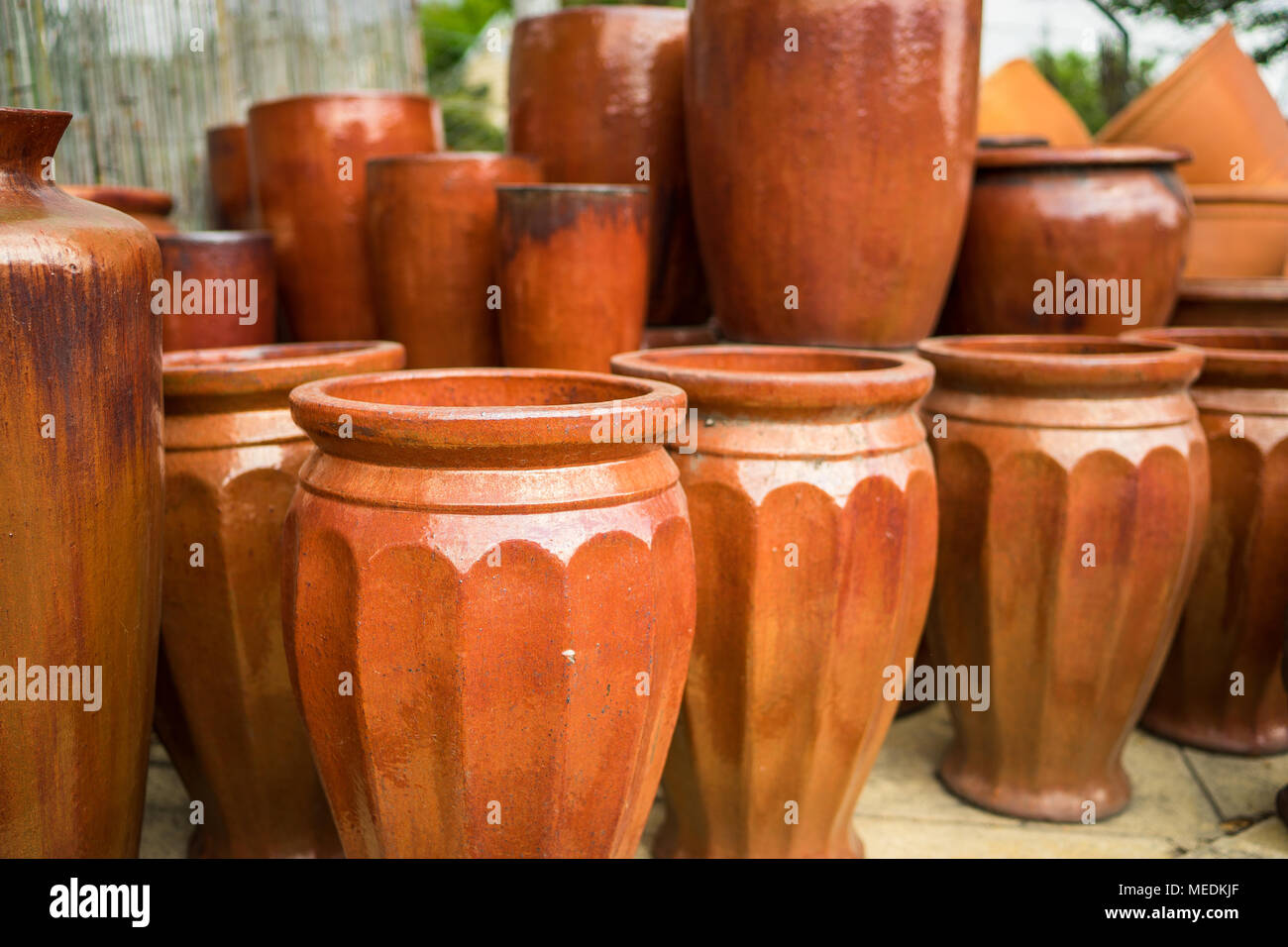 Large Ceramic Flower Pots High Resolution Stock Photography And Images Alamy