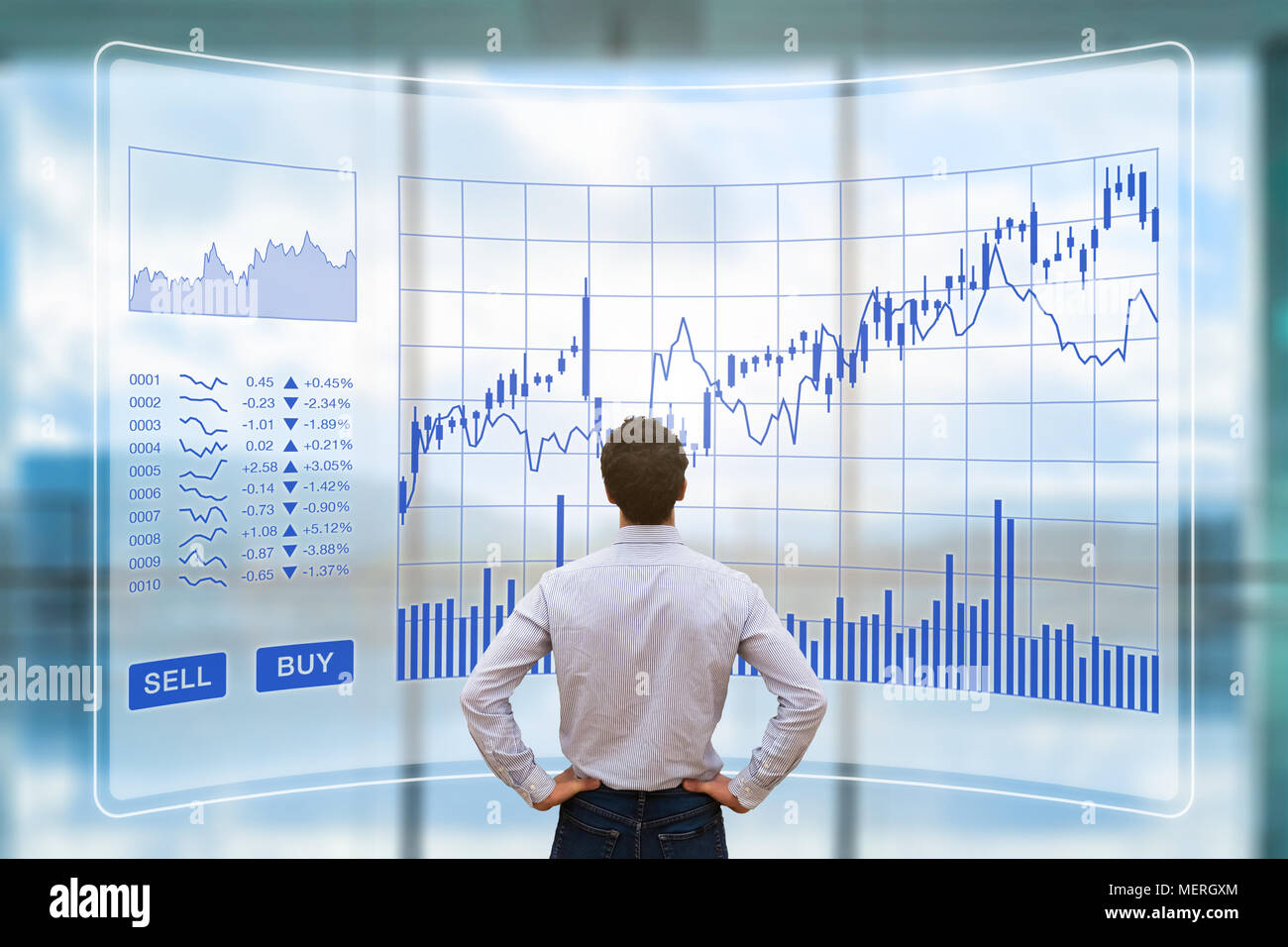 Forex Trader Stock Photos  Forex Trader Stock Images  Alamy