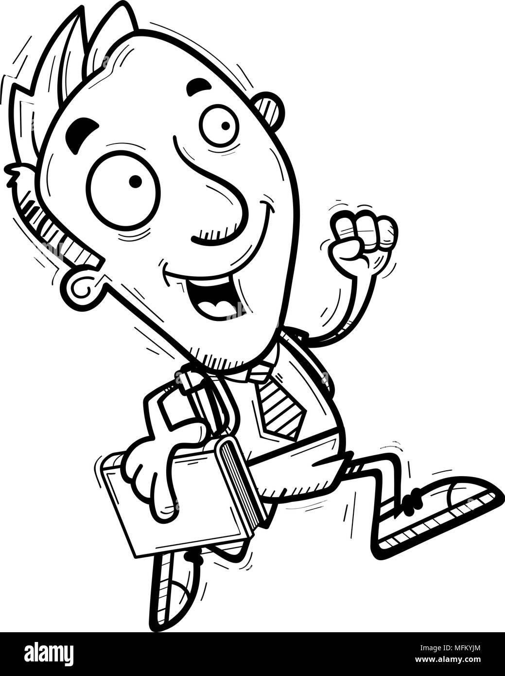 Happy Student Clipart