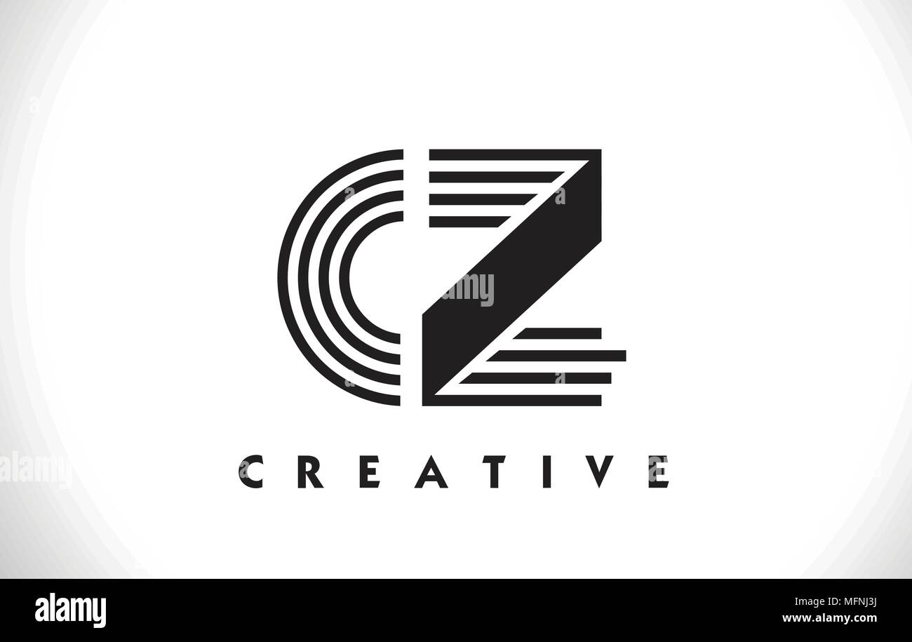 cz letter logo with