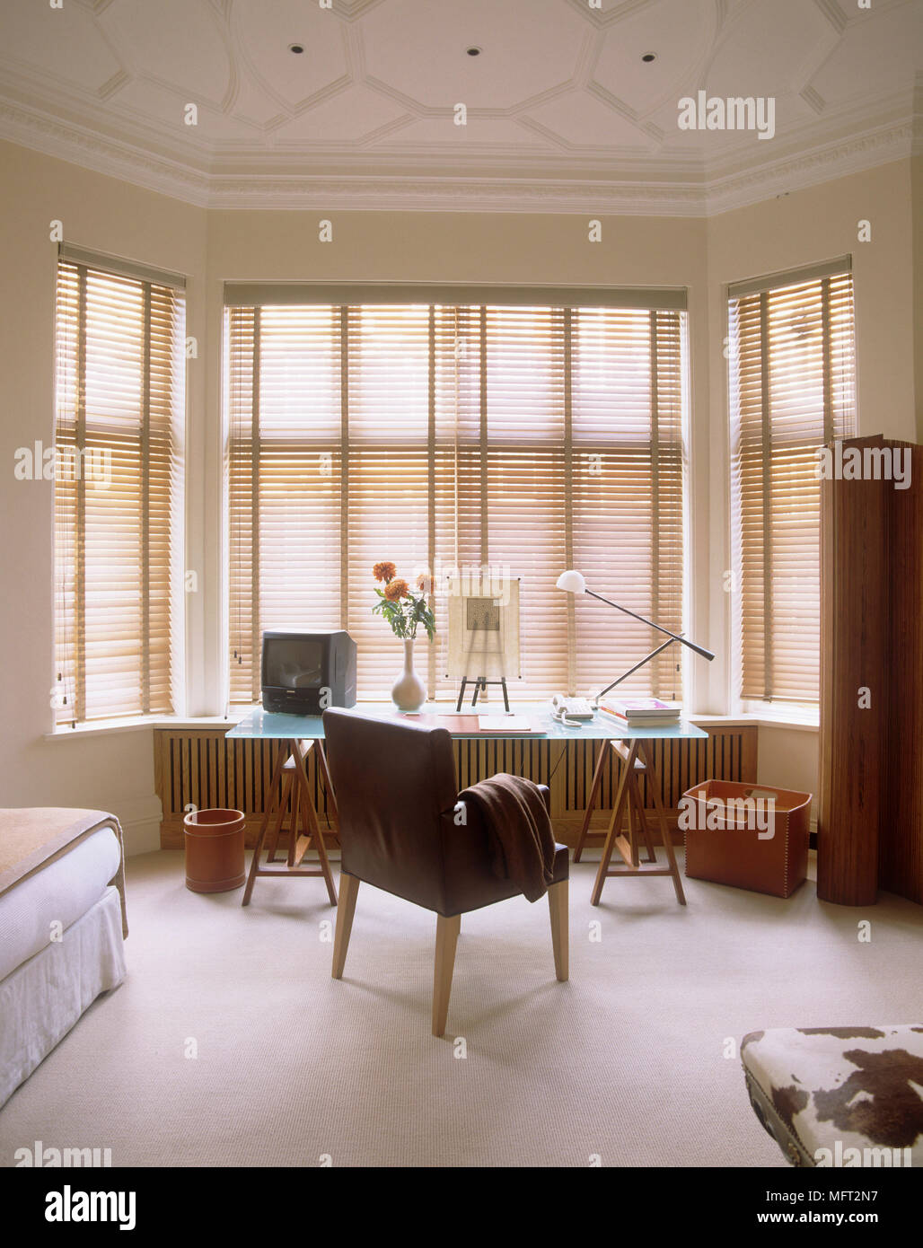 bedroom glass chair reclining adirondack chairs top table in with upholstered set bay window