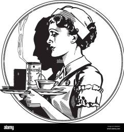nurse icon retro clipart illustration [ 1300 x 1367 Pixel ]