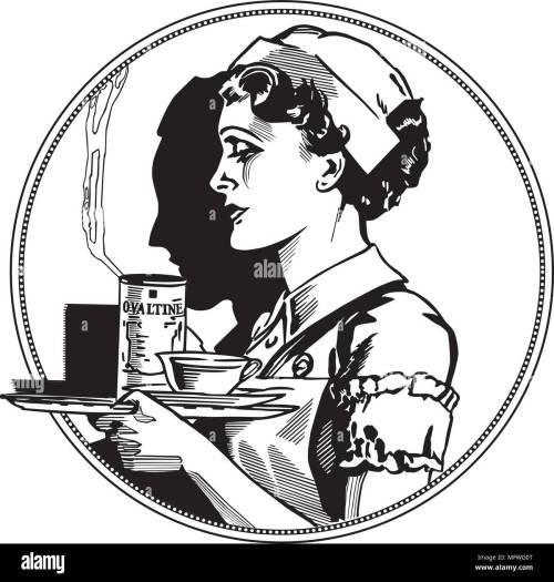 small resolution of nurse icon retro clipart illustration