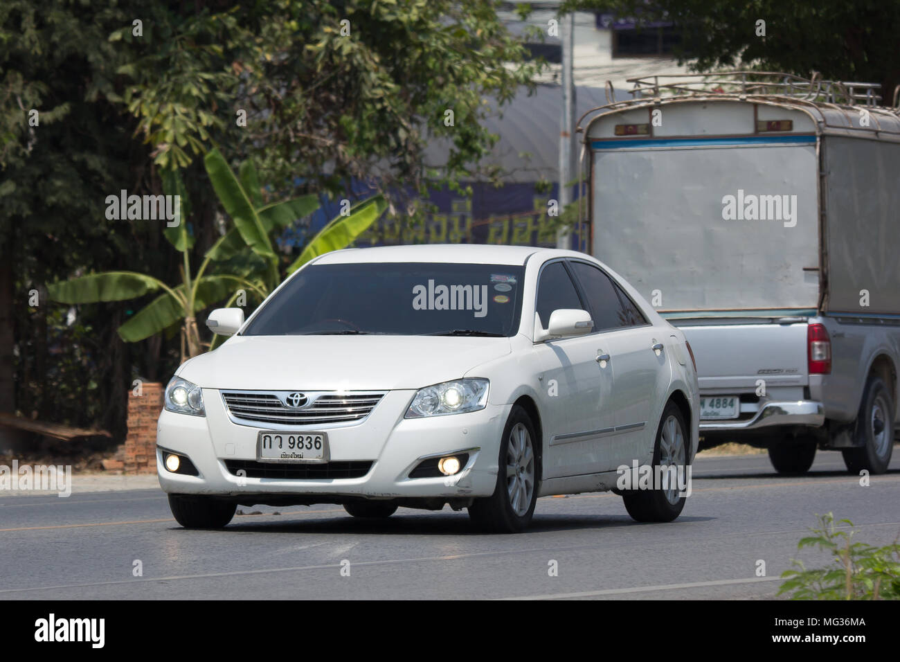 all new camry 2018 thailand kelemahan grand veloz 1.5 chiang mai april 3 private car toyota on road no 1001 8 km from chiangmai business area