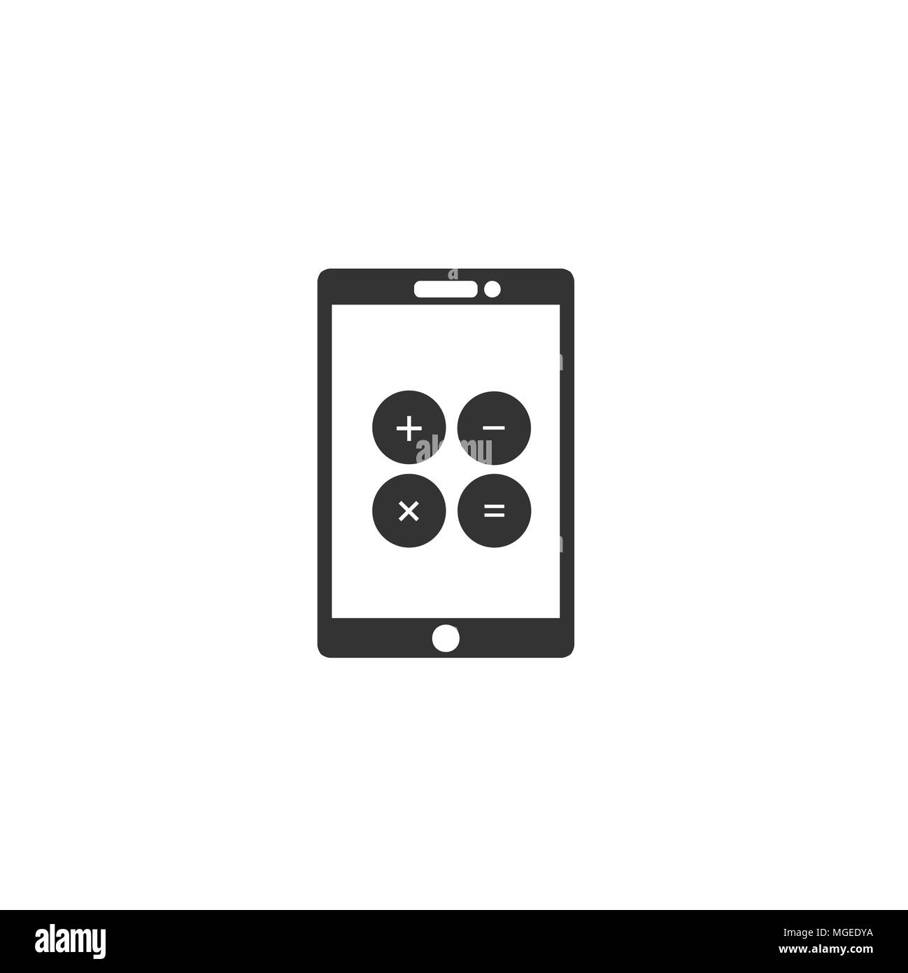 calculator app sign icon