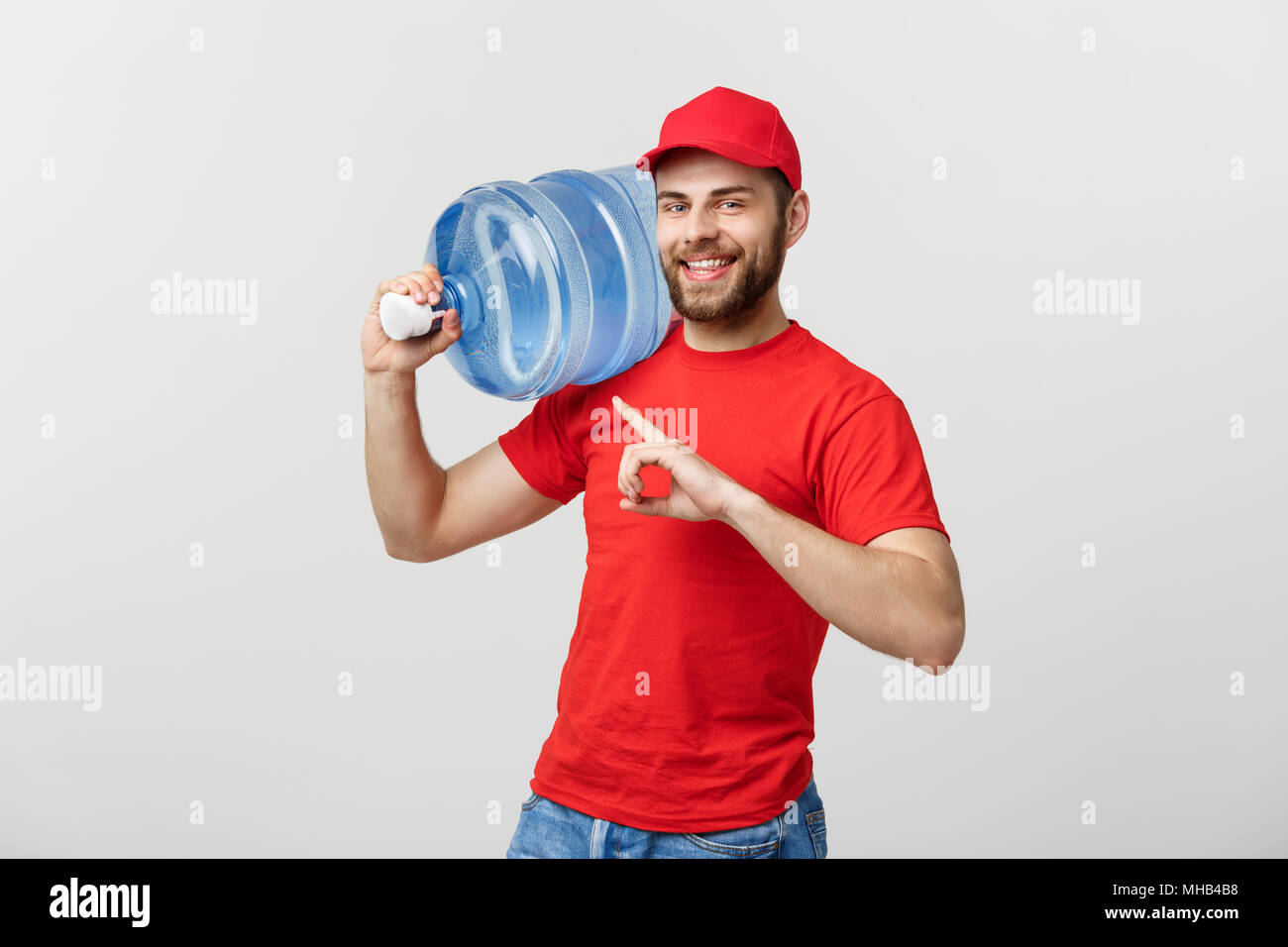 Bottled Water Delivery Stock Photos Amp Bottled Water