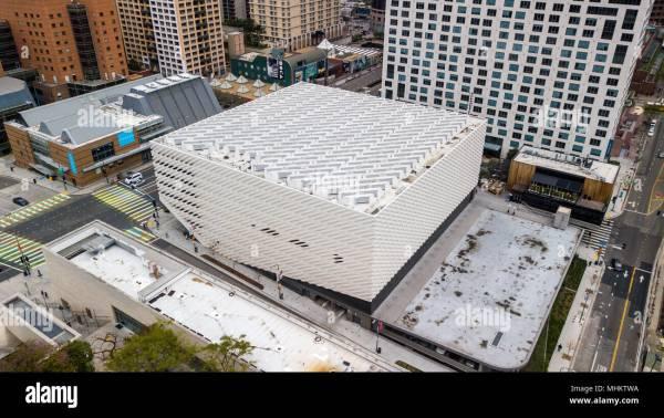 Broad Modern Art Museum Los Angeles California