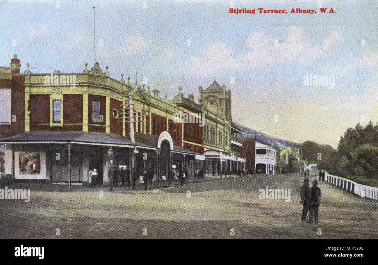 Stirling Terrace Albany Western Australia Date Circa