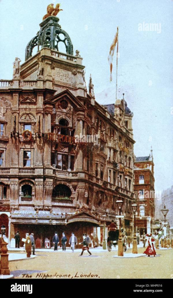 Hippodrome Building of London City Corner