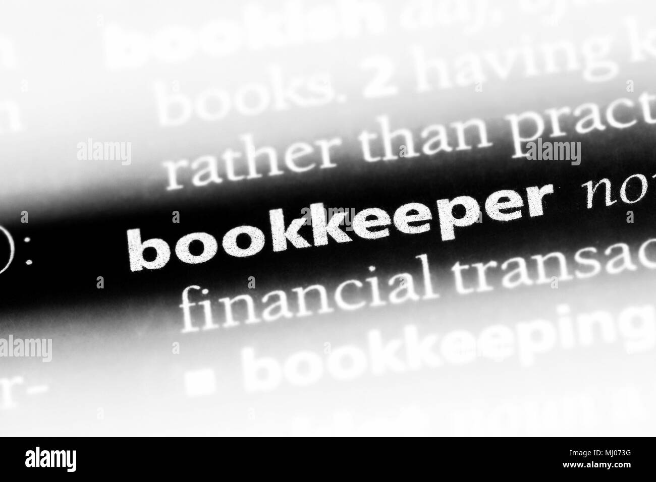 Bookkeeper Black And White Stock Photos Amp Images