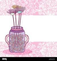 Mason Jar Flowers Stock Photos & Mason Jar Flowers Stock ...