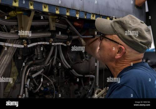 small resolution of james duty an airplane mechanic contracted through kay and associates inc clips a wiring